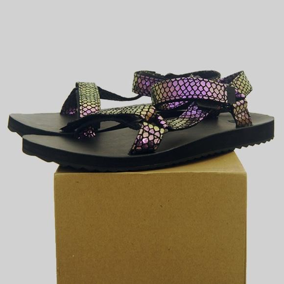 d844ef9e892 Teva Original Universal Iridescent Sandals